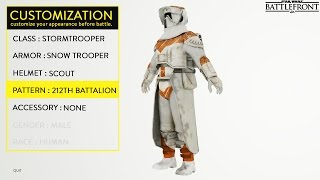 Star Wars Battlefront Talk: Stormtrooper Customization (Fan Made) and Rebel Races