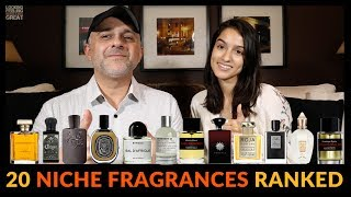 Top 20 Niche Fragrances Ranked by Future Perfumer - Are Your Favorites On This List?