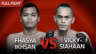 [HD] Fhasya Ikhsan vs Vicky Siahaan || One Pride Pro Never Quit #26