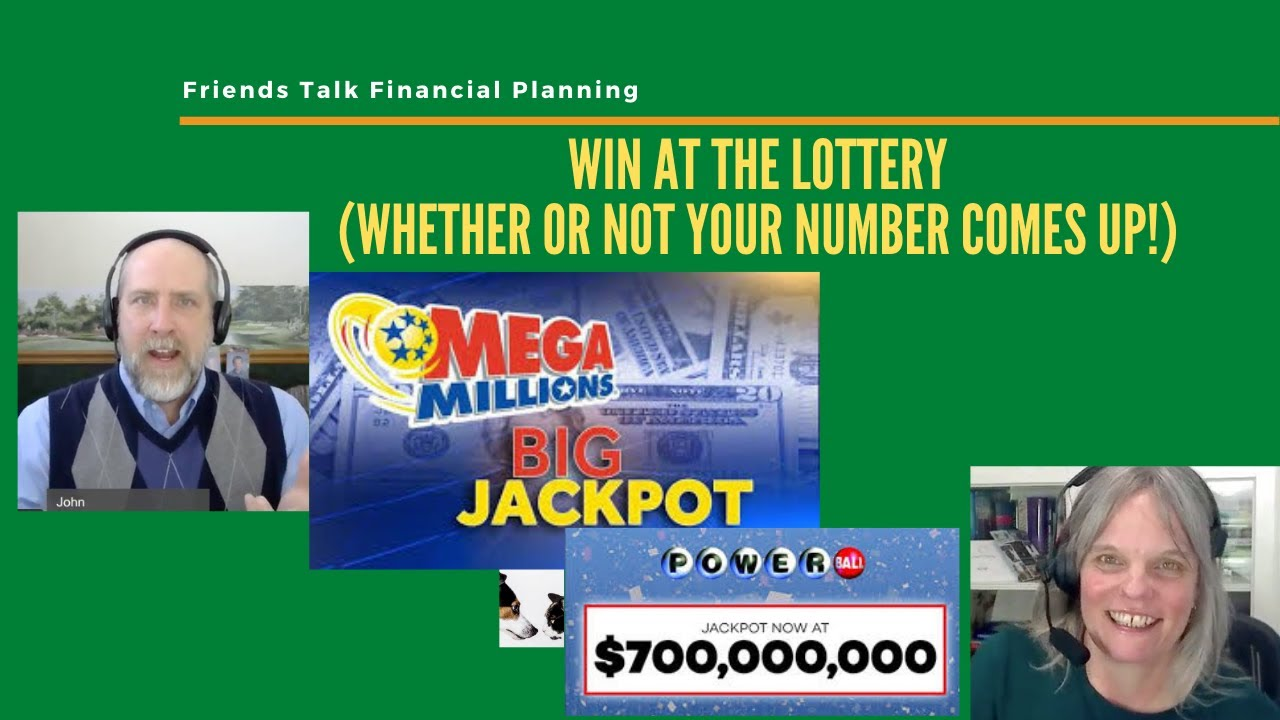 Win at the Lottery (whether your number comes up or not)