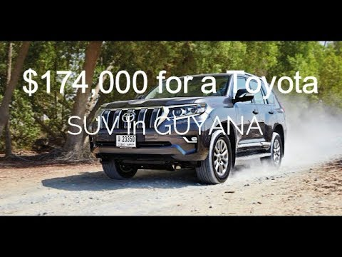 S4.E11 |  Buying An SUV |  $174,000 USD For A Toyota SUV In Guyana. RIDICULOUS!