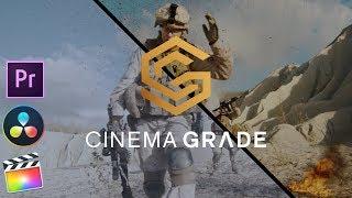 Cinema Grade Plugin For Premiere Pro, DaVinci Resolve u0026 FCPX