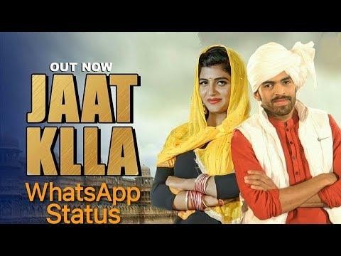 Masoom Sharma - Jaat Klla WhatsApp Status Techaryanvi
