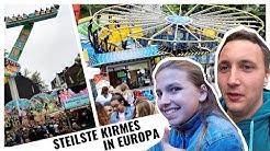 STEILSTE KIRMES EUROPAS! | Kirmes Gevelsberg 2018 | Tages VLOG #99