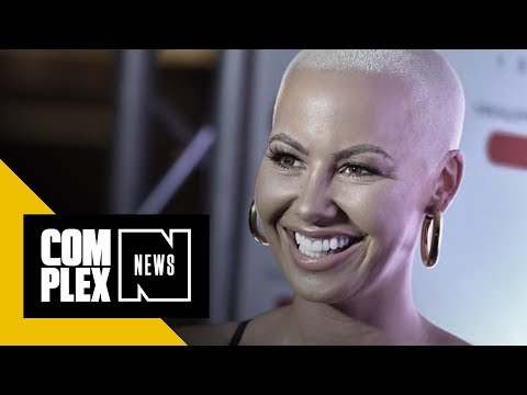 Amber Rose Shows Off Her Breast Reduction on Snapchat