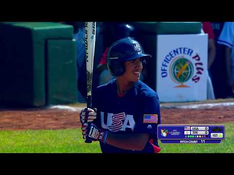 USA v Chinese Taipei - U-15 Baseball World Cup 2018