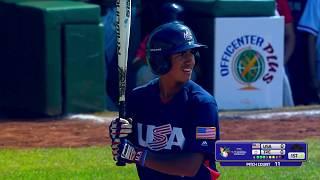 USA v Chinese Taipei - U-15 Baseball World Cup 2018
