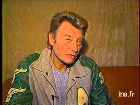 Johnny hallyday 29.01.1987 midi 3 normandie interview pour terminus