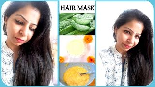 Miracle Hair Mask for Dry, Damaged, Rough & Frizzy Hair | Homemade Hair Mask | Fat to Fab Suman