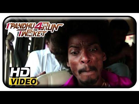 1 Pandhu 4 Run 1 Wicket Tamil Movie | Scenes | Snake Got Inside Into Sentrayan's Car