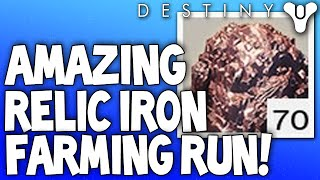 Destiny: Best Relic Iron Farming Spot / Run (Unlimited Relic Irons - Mars)