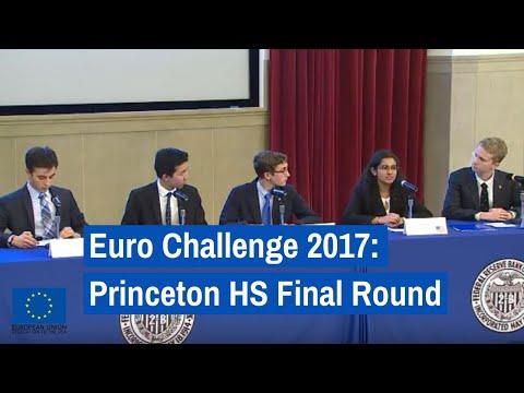 Euro Challenge 2017: Princeton High School Final Round Presentation