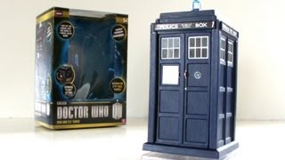 DOCTOR WHO Spin & Fly TARDIS Toy Review | Votesaxon07