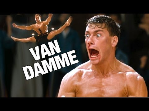 Most Epic Van Damme Splits Ever Poster