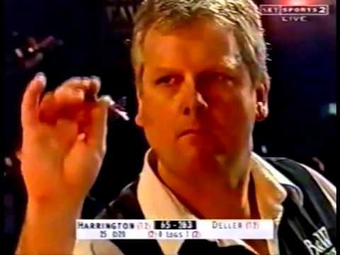 Keith Deller vs. Rod Harrington Incident - 2002 PDC World Championship