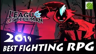 League of Stickman 2 Best Fighting RPG - Android Gameplay FHD
