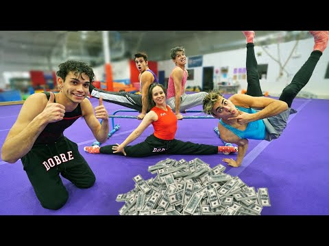 LAST TO STOP DOING GYMNASTICS WINS CASH PRIZE!