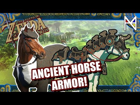 How to Find Ancient Horse Armor - ZELDA BREATH OF THE WILD (BOTW Champions' Ballad DLC)