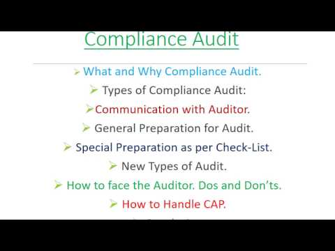 Compliance Audit in Bangla