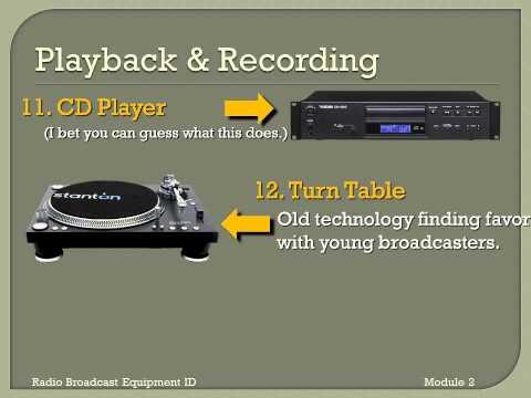 Radio Broadcast Equipment Identification