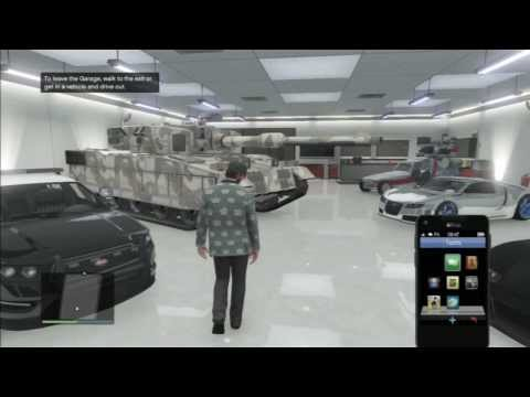how-to-store-the-rhino-tank-in-your-garage-and-get-insurance-gta-5-online-(glitch-gta-v)-(detailed)