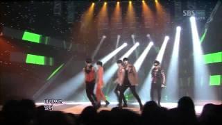 [sbs 인기가요] 엠블랙 - 모나리자, MBLAQ - Mona Lisa 633회 2011년8월7일 일요일