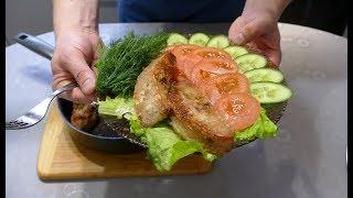 Хвост бобра с овощами