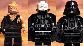 Дарт Вейдер LEGO Star Wars минифигурки вся моя коллекция Обзор
