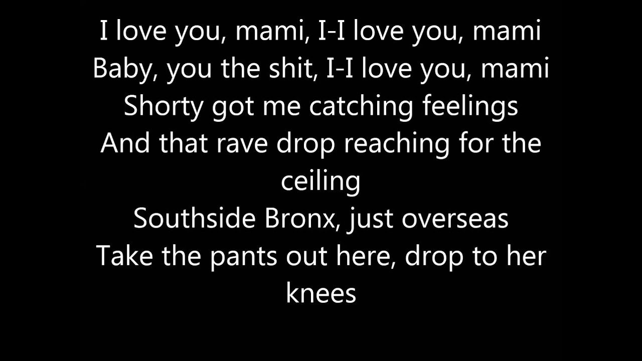 Jennifer Lopez I Luh Ya Papi Feat French Montana Lyrics Youtube