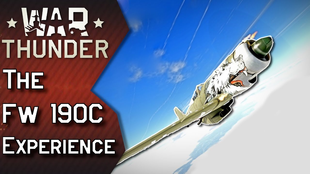 War Thunder | The Fw 190C Experience