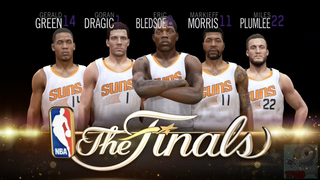 NBA Live 15 Finals Intro & Celebration - Phoenix Suns - YouTube