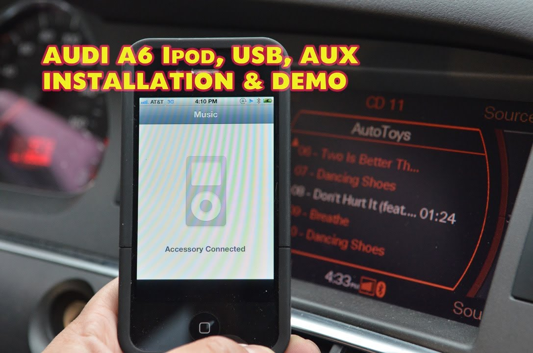 Audi A6 Ipod Usb Mp3 Dension Gw51mo2 Demo Amp Install