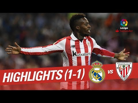 Resumen de Real Madrid vs Athletic Club (1-1)