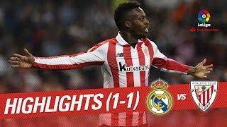 Highlights real madrid vs athletic club (1-1)