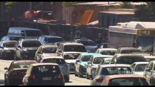 Traffic Chaos | 9 News Adelaide Top 10 Video