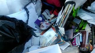 Dumpster diving. no creerás lo que  me e encontrado