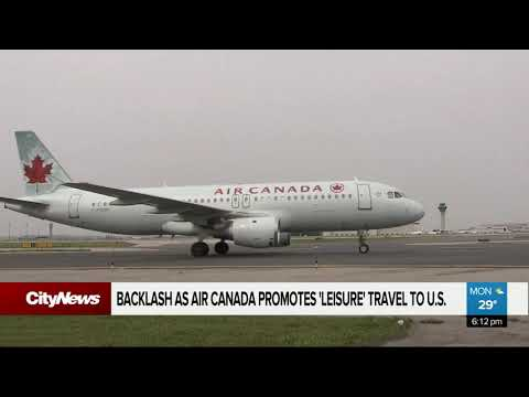 Air Canada Promotes Leisure Travel To U.S. Amid Pandemic