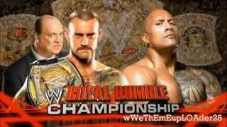 Wwe Royal rumble 2013 Full match card