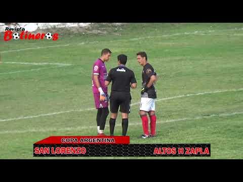 COPA ARGENTINA, San Lorenzo 1 (2) vs (3) 2 Altos Hornos Zapla