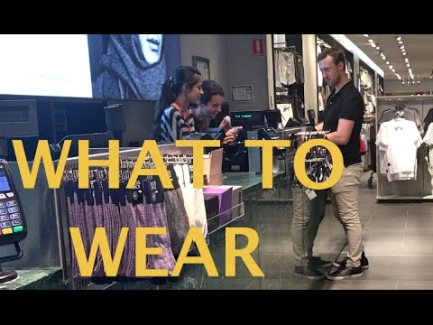 Shopping with Justin and Bradicus - What To Wear - How To Roll Up Sleeves On A Dress Shirt