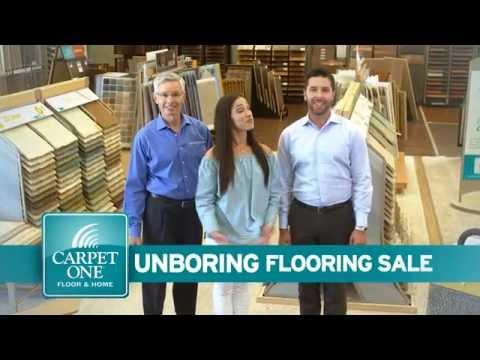 Unboring Flooring Sale at Carpet One