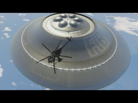 GTA 5: Sandy Shores UFO Gameplay Clip