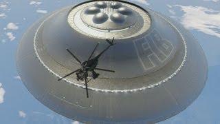 GTA 5: Sandy Shores UFO Gameplay Clip