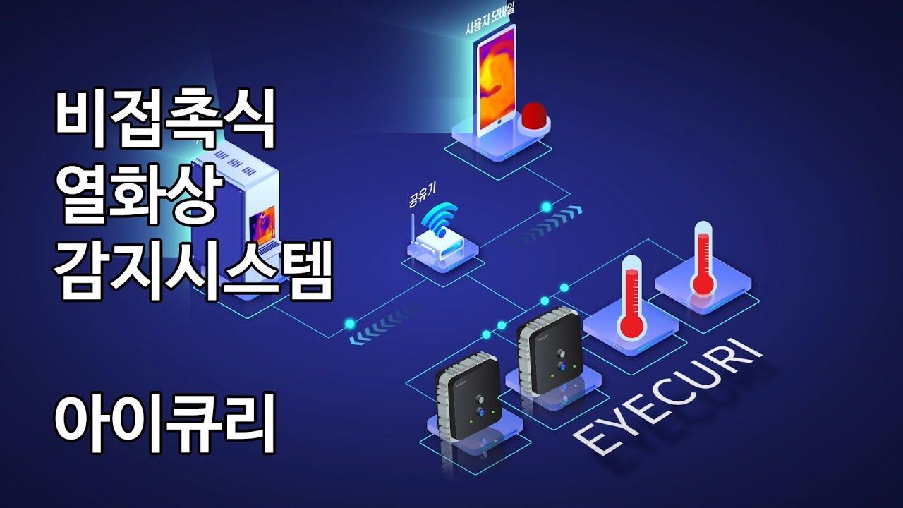 [EYECURI 아이큐리] 열화상카메라 통합관리시스템 Thermal Imaging System