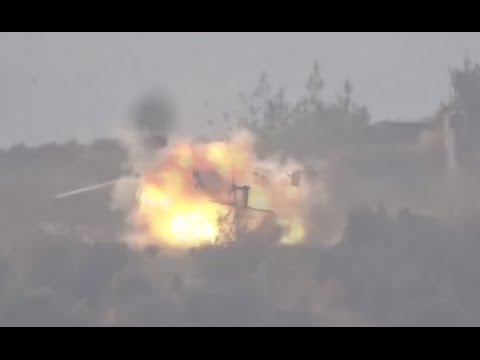 FSA video claims Russian helicopter hit with US-made TOW missile near Su-24 crash site