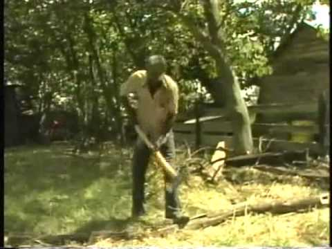 R.L. Burnside's wood-chopping holler (1978)
