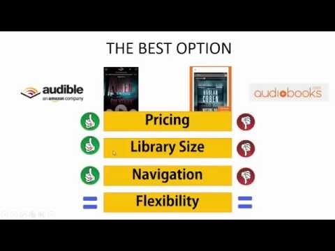 The Ultimate Audiobooks.com vs Audible Review