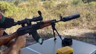 ak47 subsonic cycling semi auto