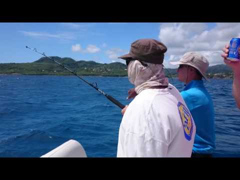 Deep Sea Fishing - Grenada, 19 July 2016