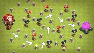 "💰 Make A PATH to RICHES!!💰  ""Clash Of Clans"" 1 GEM CHALLENGE!!"